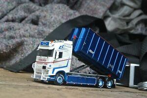 WSI | 01-3342 LOODS AKERI; VOLVO FH4 Hookarm Rigid NEW 1:50 Scale Trucks