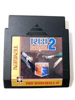 RBI Baseball 2 ORIGINAL Nintendo NES Game Tested + Working & Authentic!