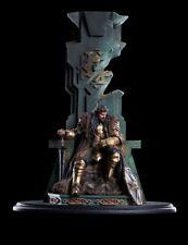 WETA KING THORIN ON THRONE SMAUG ARKENSTONE OF THRAIN LOTR THE HOBBIT GANDALF