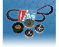 Belt & Pulley Kit for Ford Falcon AU 4.0L XR6 **NOT FOR Std 6Cyl.** 1998-02
