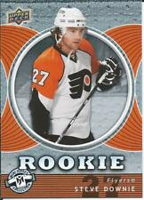 2007-08 Upper Deck UD Hockey Mini Jersey Collection STEVE DOWNIE #135 Rookie