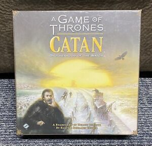 A Game Of Thrones Catan Brotherhood Of The Watch Board Game New/Sealed