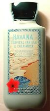 Bath & Body Works HAVANA Tropical Vanilla & Cherimoya Lotion 8 fl oz New