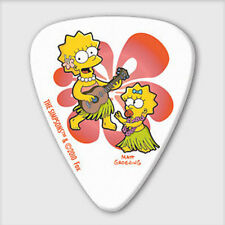 5 x Grover Allman The Simpsons Lisa & Maggie Guitar Picks *NEW* Plectrums, 0.8mm