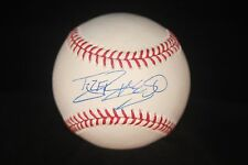 TYLER HANSBROUGH AUTOGRAPHED BASEBALL CDW CERTIFIED