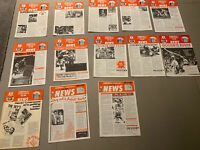 Liverpool FC / Crown Paints Fan Club 1986. 13 Issues. Great Nostalgia!