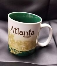 STARBUCKS MUG 16oz ATLANTA Global Icon Collector's Series 2011 Coffee Cup