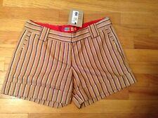 PETRO ZILLIA- NWT .striped trouser style shorts. SIZE 4