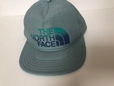 The North Face Sunwashed BaseBall Cap Hat Blue Haze One Size Snap Back New