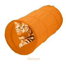 Cat Tunnel Toys Folding Pet Funny Tunnel Kitten Dog Rabbit Play With Ball Toy I