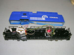 O SCALE LIONEL ENGINE - CONRAIL RECTIFIER 8859 w/ BOX - For Parts or Repair