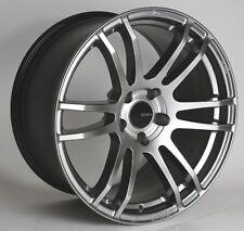 18x8 Enkei TSP6 5x114.3 +45 Hyper Silver Rims Fits Veloster Mazda Speed 3