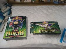 Bandai Mighty Morphin Power Rangers vintage empty boxes with foam