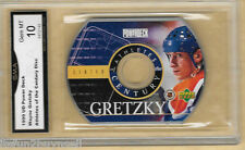 1999 UD PowerDeck Athletes of the Century Wayne Gretzky CD GRADED GMA GEM MT 10