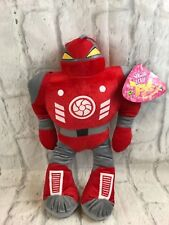 Sugar Loaf Red Robot Plush Toy New With Tags Gift