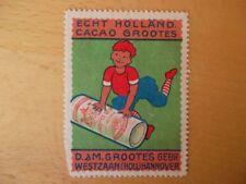 (934) Reklamemarke Echt Holländ. Cacao Grootes, Gebr. Westzaan