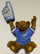 Detroit Lions NFL Football Mini Teddy Bear with Bobbin Hand by Elby Gifts