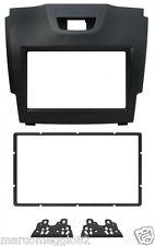 Kit fissaggio 2DIN colore nero ISUZU D-MAX 12>