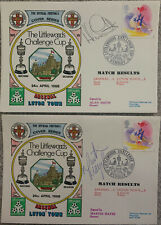More details for 2 x arsenal v luton town first day covers signed by martin hayes & alan smith