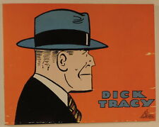 Dick Tracy 1937 Chester Gould editions Focus 1978 TBE