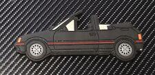 Peugeot 205 Cti fridge magnets , Black