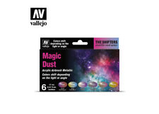 AIRBRUSH PAINTS - VALLEJO THE SHIFTERS - MAGIC DUST (6 x 17ML) - 77090