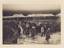 Enterrement militaire Front d'Orient Balkans Vintage Citrate Mars 1916