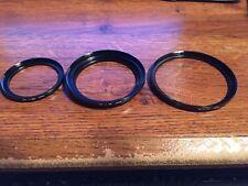 49mm - 55mm, 67mm - 72mm, 72mm - 77mm,  Filter Setp-Up Ring Metal Japan