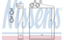 NISSENS Radiador de calefacción MERCEDES-BENZ CLASE R M GL 72046