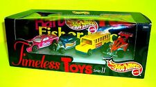 Mattel HOT WHEELS TIMELESS TOYS Series II 4-Pack Barbie Red Tyco Rc Fisher Price