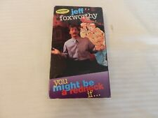 Showtime Comedy Superstars - Jeff Foxworthy: You Might Be a Redneck... (VHS, 199