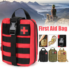Tactical First Aid Kit Survival Molle Rip-Away EMT Pouch Bag IFAK Medical CR
