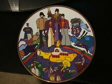 """Beatles Yellow Submarine Collectors Plate All Together Now 8 1/4"""" Rare"""