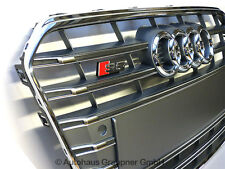 Audi S5 A5 Facelift Kühlergrill Platiniumgrau Chrom Frontgrill Grill