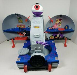 Technodrome Vehicle Playset 100% Complete TMNT Teenage Mutant Ninja Turtles