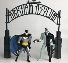Arkham Asylum Escape Batman & Two-Face The New Batman Adventures Animated Series