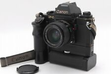 [C Normal] Canon New F-1 AE Camera w/ FD 28mm f/2, Motor Drive FN JAPAN Y3790