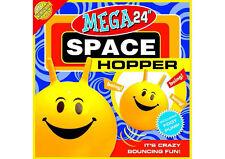 "NEW Children's YELLOW MEGA Space Hopper Inflatable Bounce Ball - 24"" / 61cm dia"