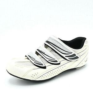SHIMANO Women's Size 40 SH-WR35 White Road Cycling/Spin Shoes Sports Biking