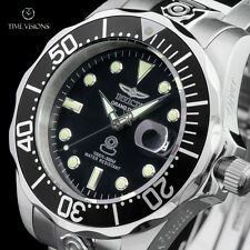 Invicta 47mm Grand Diver Black Dial Automatic Stainless Steel Bracelet Watch