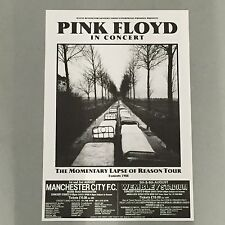 PINK FLOYD - CONCERT POSTER MANCHESTER LONDON  U.K. AUGUST 1988  (A3 SIZE)