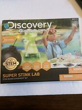 New In Box Discovery Kids Super Stink Lab Stink Bomb Experiment Set ages 8+ Stem