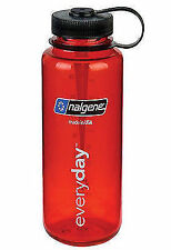 Nalgene 'everyday' Weithals-flasche 1 L rot Loop-top