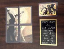 The Art of Robert Aragon Sketch Card Set Tommy Tucker