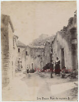 I Leasing-De-Provence Strada Museo Francia Vintage Albumina Ca 1890