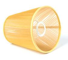 Lampenschirm aus Tüll Organza Gold E14 Tischleuchte Kronleuchter Wandleuchte