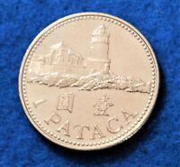 2007 Macau 1 Pataca - Gorgeous Coin - See PICS