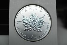 2014 $5.00 Canada One ounce pure silver