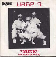 Warp 9-Nunk vinyl single