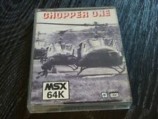 MSX 64K Game - Chopper One - Eurosoft - Tape VERY RARE